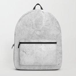 White Light Gray Concrete Backpack