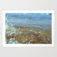 Big Splash 02 Art Print