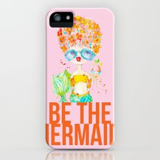 pink lemonade -- be the mermaid. Slim Case iPhone (5, 5s)