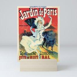 1890 Jardin De Paris Night Party Mini Art Print
