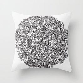 Sharp Gems and Goobers Throw Pillow