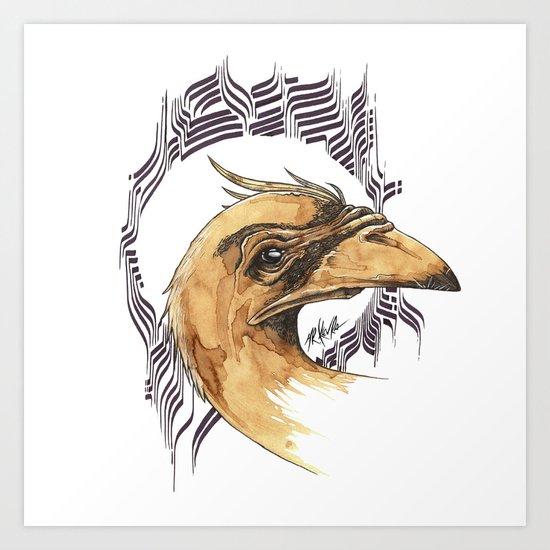 SAINT BIRD OF PARADISE  Art Print
