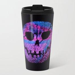 Glow skull purple Travel Mug