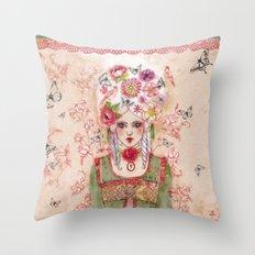 Marie-Antoinette Throw Pillow