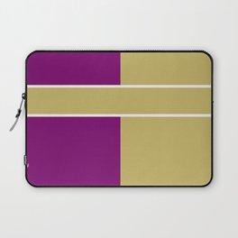Team Color 6....Gold,purple Laptop Sleeve