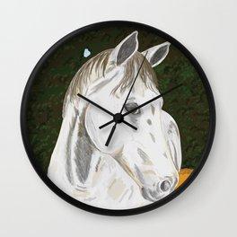 Old Grey Wall Clock