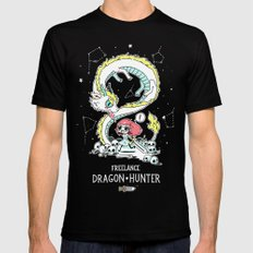 Dragon Hunter Black MEDIUM Mens Fitted Tee
