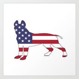 American Pit Bull Terrier Art Print