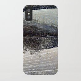 obliterated waveform iPhone Case