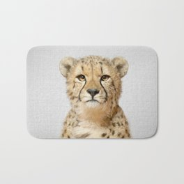 Cheetah - Colorful Bath Mat