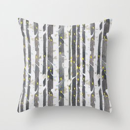 Gamueta - Trees Pattern Throw Pillow
