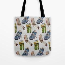 SLOB ILLUSTRATION PATTERN Tote Bag