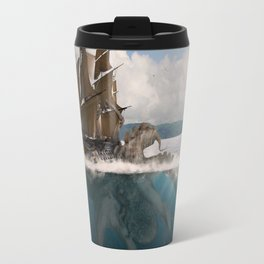 Great Giant Of The Sea Travel Mug