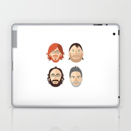 Trey, Fish, Mike, Page as Vector Characters Laptop & iPad Skin