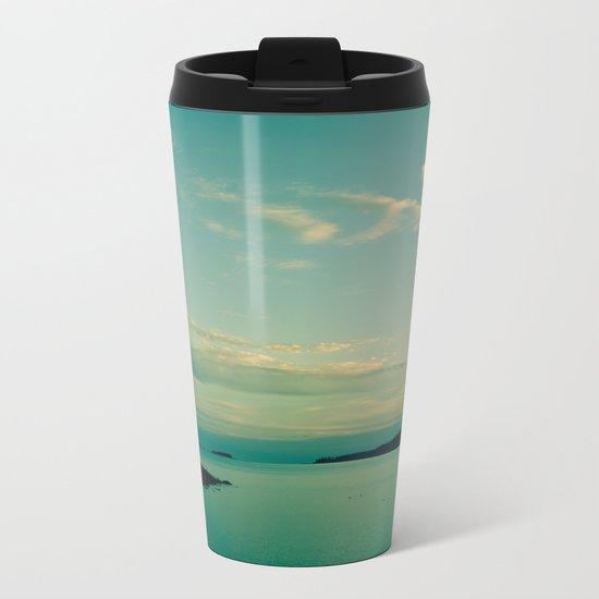Sea and Sky Metal Travel Mug