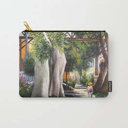 Bridge of sighs painting in Barranco - Lima, Peru #eclecticart Carry-All Pouch