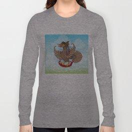 'Jatayu' or Eagle on the story of the Ramayana Long Sleeve T-shirt