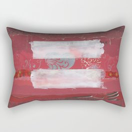 Forward Thinking People Rectangular Pillow