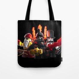 The Heroes of Zombie Zulu Dawn Tote Bag