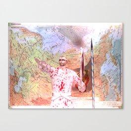 Leader Canvas Print
