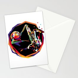 Jazz WPAP 01 Stationery Cards