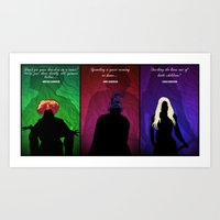 hocus pocus Art Prints featuring Hocus Pocus by Brieana
