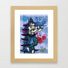 Krishna Rising Framed Art Print
