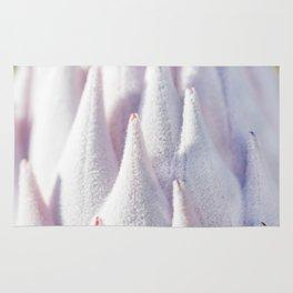 Details of velvety flower Rug
