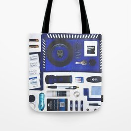 Junk Drawer: Azure Tote Bag