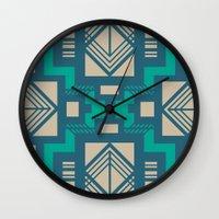 gatsby Wall Clocks featuring Gatsby by Kozza