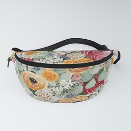 Fall Protea Bouquet Fanny Pack