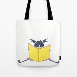 Little Girl Reading Tote Bag