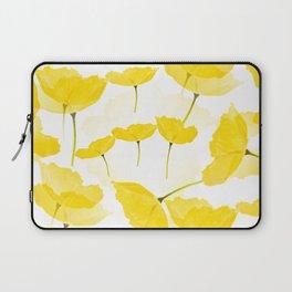 Light Yellow Poppies Spring Summer Mood #decor #society6 #buyart Laptop Sleeve