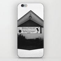 mid century iPhone & iPod Skins featuring Mid-Century shadow by Vorona Photography