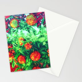 Intense Flowers Stationery Cards