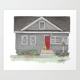 The Zupe Home Art Print