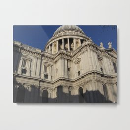 St. Paul's Cathedral, London Metal Print