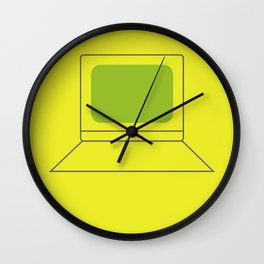 Computer World Wall Clock