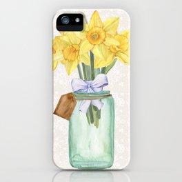 Daffodils iPhone Case