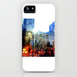 linear city iPhone Case