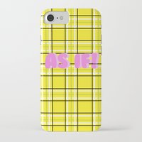 clueless iPhone & iPod Cases featuring Clueless by Stephanie Ross