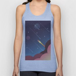 Out there  Unisex Tank Top