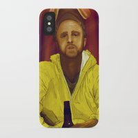 jesse pinkman iPhone & iPod Cases featuring Jesse Pinkman  by Inspired Engine