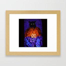 A Bear! Framed Art Print