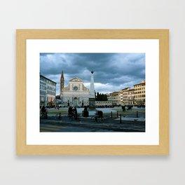 Dusk (Florence, Italy) Framed Art Print