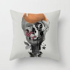 AmeriKKKan Throw Pillow