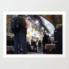 Camden Lock,London Art Print