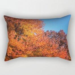 Fall Across the Street Rectangular Pillow