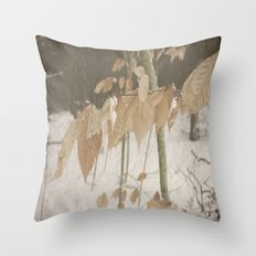 Few Fall Throw Pillow