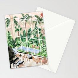 Resort Lobby Stationery Cards